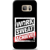 Eiroo Samsung Galaxy S7 Edge Work Sweat Desen Kılıf