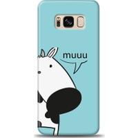 Eiroo Samsung Galaxy S8 İnekli Desen Kılıf