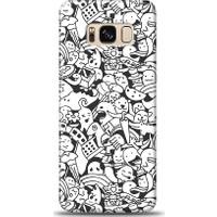 Eiroo Samsung Galaxy S8 Plus Karikalar Desen Kılıf