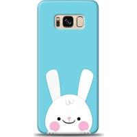 Eiroo Samsung Galaxy S8 Plus Tavşanlı Desen Kılıf