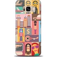 Eiroo Samsung Galaxy S8 Popartist Desen Kılıf