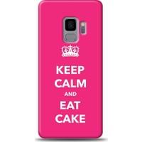 Eiroo Samsung Galaxy S9 Keep And Calm Desen Kılıf