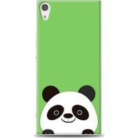 Eiroo Sony Xperia XA1 Ultra Panda Desen Kılıf