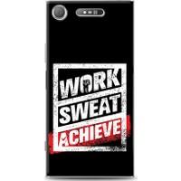 Eiroo Sony Xperia XZ1 Work Sweat Desen Kılıf