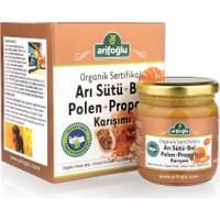 Arifoğlu Organik Arı Sütü & Bal & Polen & Propolis 230 Gr