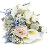 Elit Pastel Renkli El Çiçeği