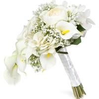 Elit Beyaz Galalar El Çiçeği