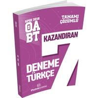 Puan Akademi 2018 KPSS ÖABT Türkçe Öğretmenliği Kazandıran Çözümlü 7 Deneme