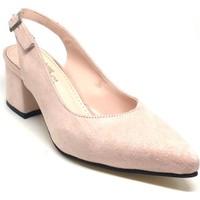 Shop And Shoes 173-212 Kadın Ayakkabı Pudra Süet