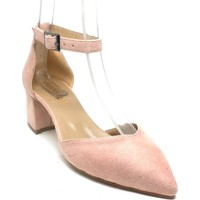 Shop And Shoes 172-160 Kadın Ayakkabı Pudra Süet