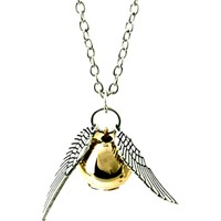Harry Potter The Golden Snitch Pendent Cosplay Kolye