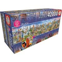 Educa Puzzle Around The World 42000 Parça Puzzle