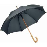 Pf Concept 19547952 Siyah Ahşap Saplı Şemsiye