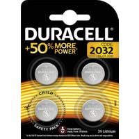 Duracell CR2032 Lithium 3V Pil 4'Lü
