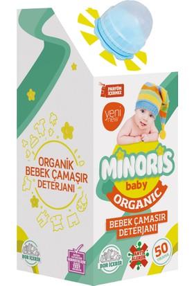 Minoris Baby Organik Antialerjik Bebek Çamaşır Deterjanı - Parfümsüz