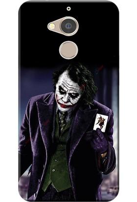 Kılıf Merkezi General Mobile GM8 Kılıf Silikon Baskılı Joker STK:599