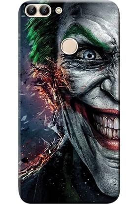 Kılıf Merkezi Huawei P Smart Kılıf Silikon Baskılı Joker STK:595