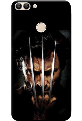 Kılıf Merkezi Huawei P Smart Kılıf Silikon Baskılı Wolverine STK:610