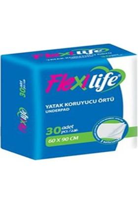 FlexiLife 60x90 Cm Kedi Köpek Çiş Pedi 30'lu