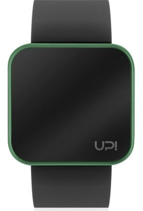 Up! Watch Smooth Black&Green Unisex Kol Saati