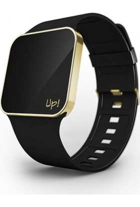 Up! Watch Upgrade Titanium Shiny Gold & Black Unisex Kol Saati