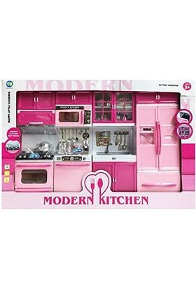Kdd Mutfak Seti 4 Lü Pilli Işıklı Oyuncak