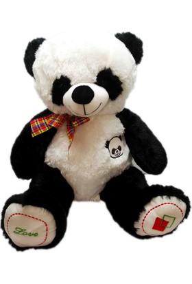 Kdd Peluş Ayı Panda Uyku Arkadaşım Armalı