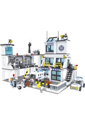 Bricks 1227 Parça Polis Seti