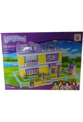Bricks 825 Parça Fairyland Set