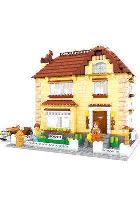 Bricks 828 Parça City Set