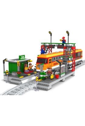 Bricks 928 Parça Tren Set