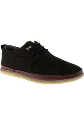 Alisolmaz 499 Bağli Casual Siyah Erkek Ayakkabı