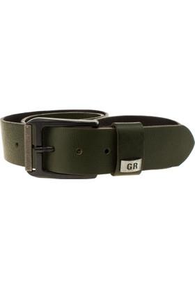 Greyder 98073 Casual Kemer 4cm Haki Erkek Aksesuar