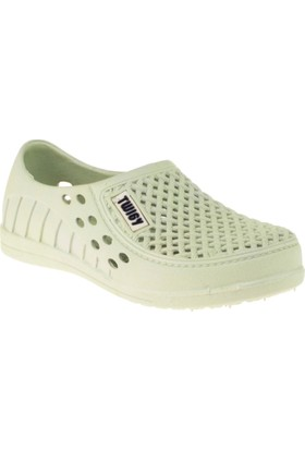 Twigy H0952 Tw Tasta Delikli Beyaz Çocuk Ayakkabı