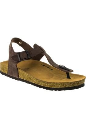 Twigy M0730 Tw Sanda P.A Kahverengi Erkek Sandalet
