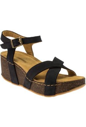 Greyder 50211 Comfort Lacivert Kadın Sandalet