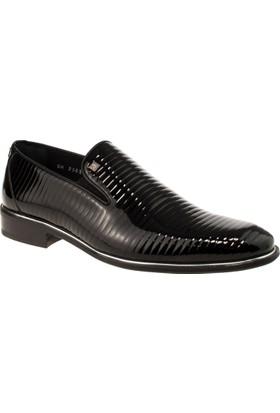 Alisolmaz 2505 Bağsiz Klasik Siyah Erkek Ayakkabı