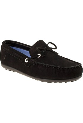 Vicco 920.18y.303 Genç Deri Siyah Ayakkabı