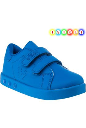 Vicco 937.18y.102 İşikli Mavi Çocuk Spor Ayakkabı