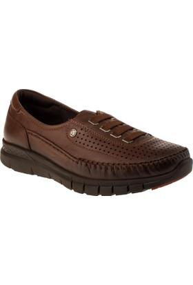 Forelli 29436 Bağciksiz Comfort Taba Kadın Ayakkabı