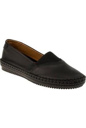 Estile 101-178 Bağsiz Günlük Siyah Kadın Ayakkabı