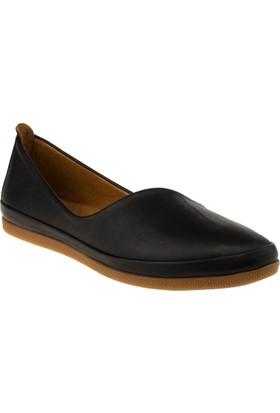 Estile 101-202 Bağsiz Günlük Siyah Kadın Ayakkabı