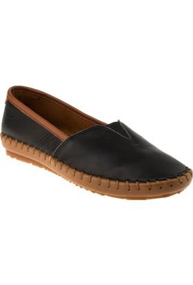 Estile 101-236 Bağsiz Günlük Siyah Kadın Ayakkabı