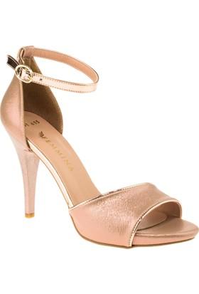 Femmina 101 Yüksek Topuk Pembe Kadın Ayakkabı