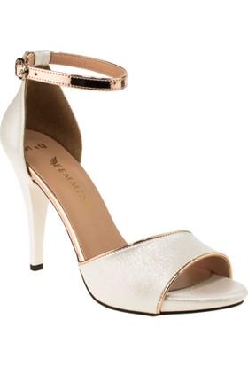Femmina 101 Yüksek Topuk Sedef Kadın Ayakkabı