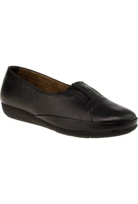 Scavia 866 Bagsiz Casual Siyah Kadın Ayakkabı