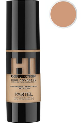Pastel Profashion Hı Corrector Hıgh Coverage Liquid FondötenNo 406