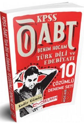 Benim Hocam Yayınları 2018 Öabt Türk Dili Ve Edebiyatı Öğretmenliği Tamamı Çözümlü 10 Deneme - Kadir Gümüş