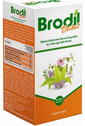 Brodil Herbal Bitkisel Ekstreler İçeren Propolisli Sıvı Takviye Edici Gıda 150 ml