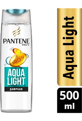 Pantene Şampuan Aqualight 500 ml